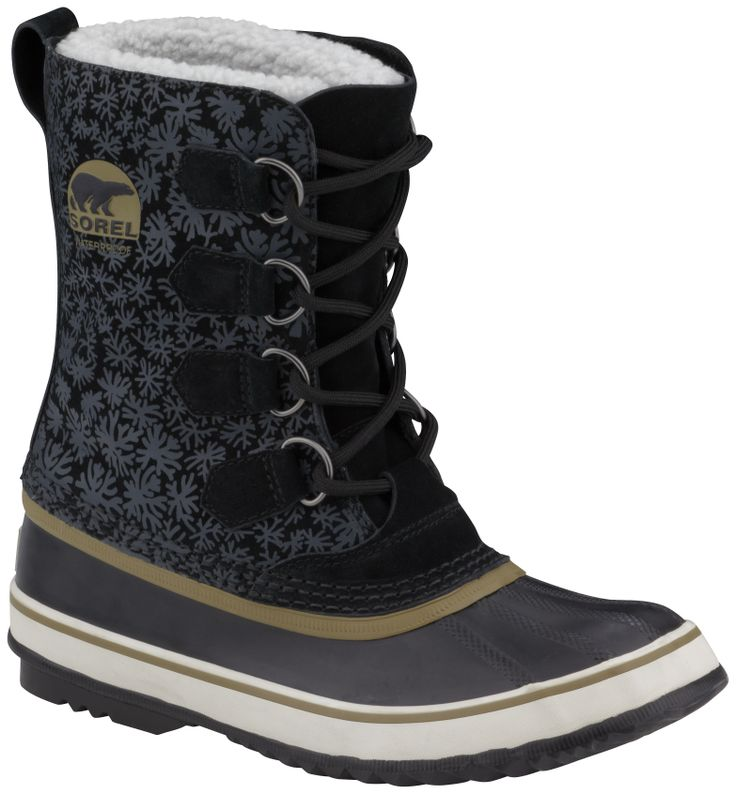 Shoes , Breathtaking Sorel Snow Boots For Women Image Gallery : Black  Mens Snow Boots Image Gallery