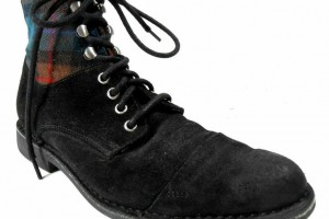 Shoes , Stunning Cole Haan Nike Air Black Leather Boots Collection : black nike air cole haan product Image