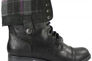 Shoes , Gorgeous Combat Boots For Women Photo Gallery :  black rain boots for women Photo Collection
