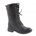 black  western boots for women Photo Collection , Gorgeous Combat Boots For Women Photo Gallery In Shoes Category