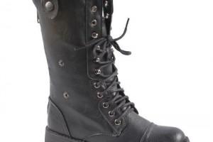 Shoes , Gorgeous Combat Boots For Women Photo Gallery : black  western boots for women Photo Collection