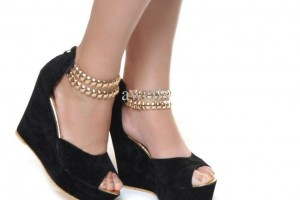 Shoes , Beautiful Nice High Heeled Shoes Product Lineup :  black womens shoes cheap  product Image