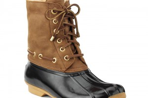 Shoes , 15  Wonderful Sperry Duck Boots Womens Photo Gallery : brown duck boots women  Photo Collection