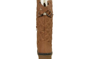 Shoes , 12  Wonderful  Fur Lined Boots Product Lineup : brown  fur lined rain boots Product Ideas