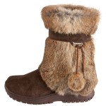 brown furry winter boots Product Picture , Lovely  Furry Boots Product Lineup In Shoes Category