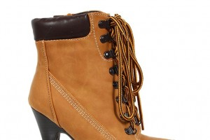 Shoes , Wonderful  Timberland Style Heels Collection : brown  heeled timberland style boots  Product Lineup