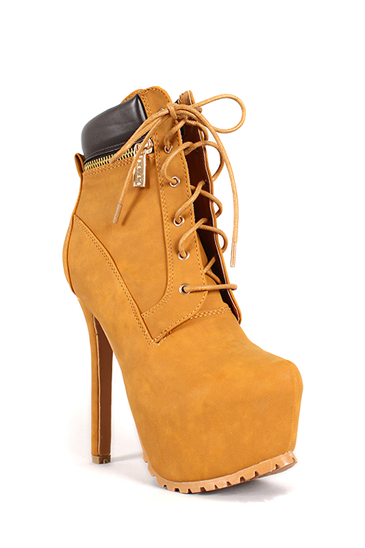 Shoes , Wonderful  Timberland Style HeelsCollection : Brown  Heels For Women Product Lineup