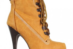 Shoes , Wonderful  Timberland Style Heels Collection : brown high heel timberland style boots