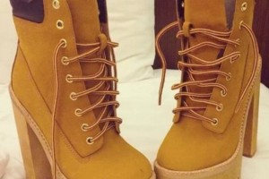 Shoes , Gorgeous Timberland High Heelsproduct Image :  brown high heels for men product Image