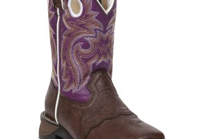 Shoes , Charming Cowboy Boots Product Ideas : brown  ladies cowboy boots Collection