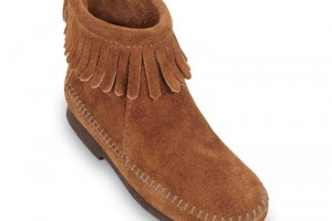 Shoes , Wonderful Moccasin Boots Product Ideas : brown  leather moccasin boots product Image