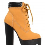 brown  timberland boots heels product Image , Wonderful  Timberland Style HeelsCollection In Shoes Category
