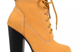 Shoes , Wonderful  Timberland Style Heels Collection : brown  timberland boots heels product Image