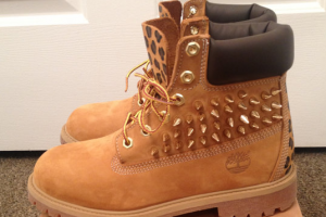 Shoes , Beautiful  Timberlands With Spikes For Women Collection :  brown timberland womens shoes