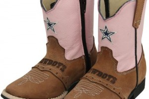 Shoes , Charming Dallas Cowboy Girl Boots Product Ideas : brown  timberlands with spikes