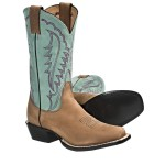 brown  women cowboy boots product Image , Awesome  Classy Square Toed Cowboy Boots For Women Product Image In Shoes Category