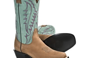 Shoes , Awesome  Classy Square Toed Cowboy Boots For Women  Product Image : brown  women cowboy boots product Image