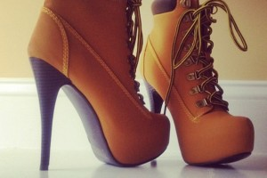 Shoes , Gorgeous Timberland High Heels product Image : brown  womens high heels Collection