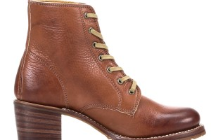 Shoes , Fabulous Women\s Lace Up Boots Product Lineup : brown  womens lace up combat boots
