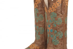 Shoes , Gorgeous Womens Cowboy Boots Product Image :  brown womens red cowboy boots Collection