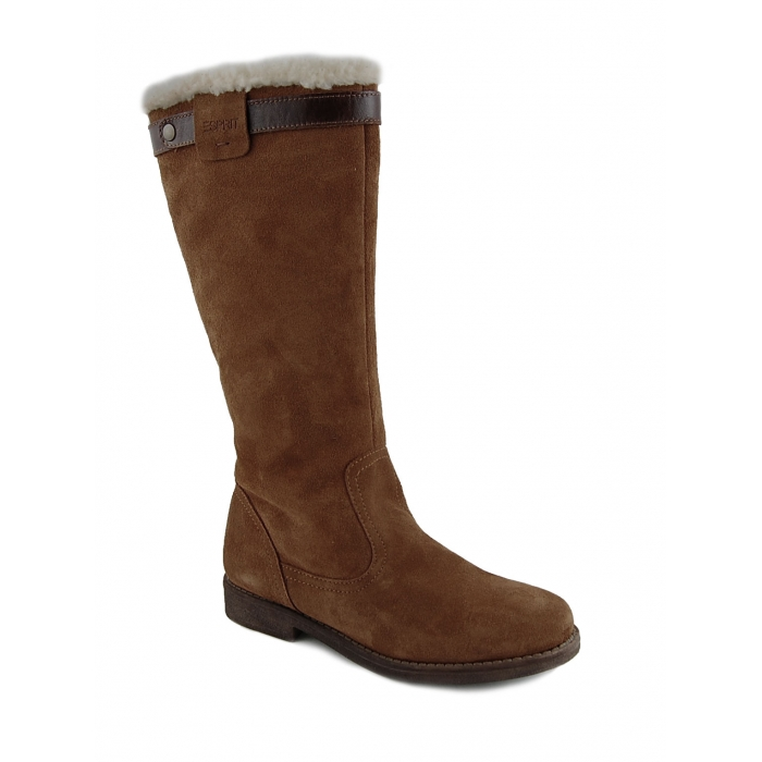 brown womens boots collection charming fur lined
