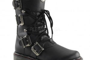 1024x1024px Lovely Gothic Combat Boots Product Ideas Picture in Shoes