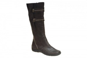 Shoes , Beautiful Flat Boots Women product Image :  flat black boots Collection