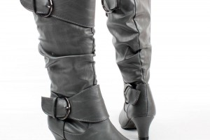 Shoes , Breathtaking High Heel Boots For Kids Girls Image Gallery : grey  high heel boots for girls Image Gallery