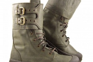 Shoes , Wonderful Palladium Boots Product Image : grey palladium baggy boots product Image