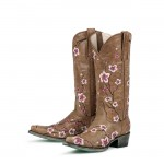 grey  short cowboy boots Photo Collection , Gorgeous Pink Cowboy Boots Picture Collection In Shoes Category