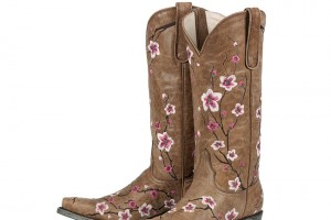 Shoes , Gorgeous Pink Cowboy Boots Picture Collection : grey  short cowboy boots Photo Collection