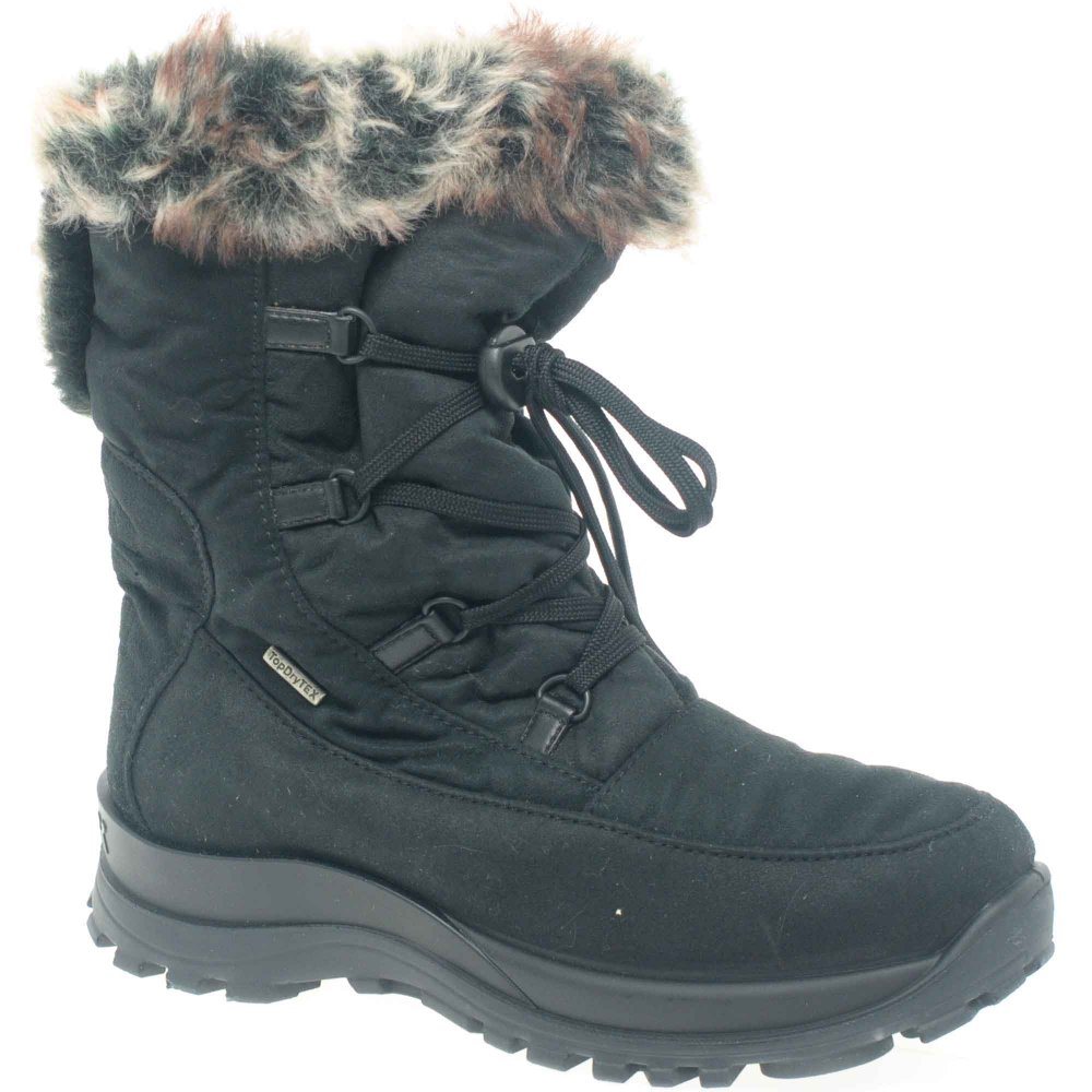 Excellent Blondo Trudy Women Black Snow Boot Boots