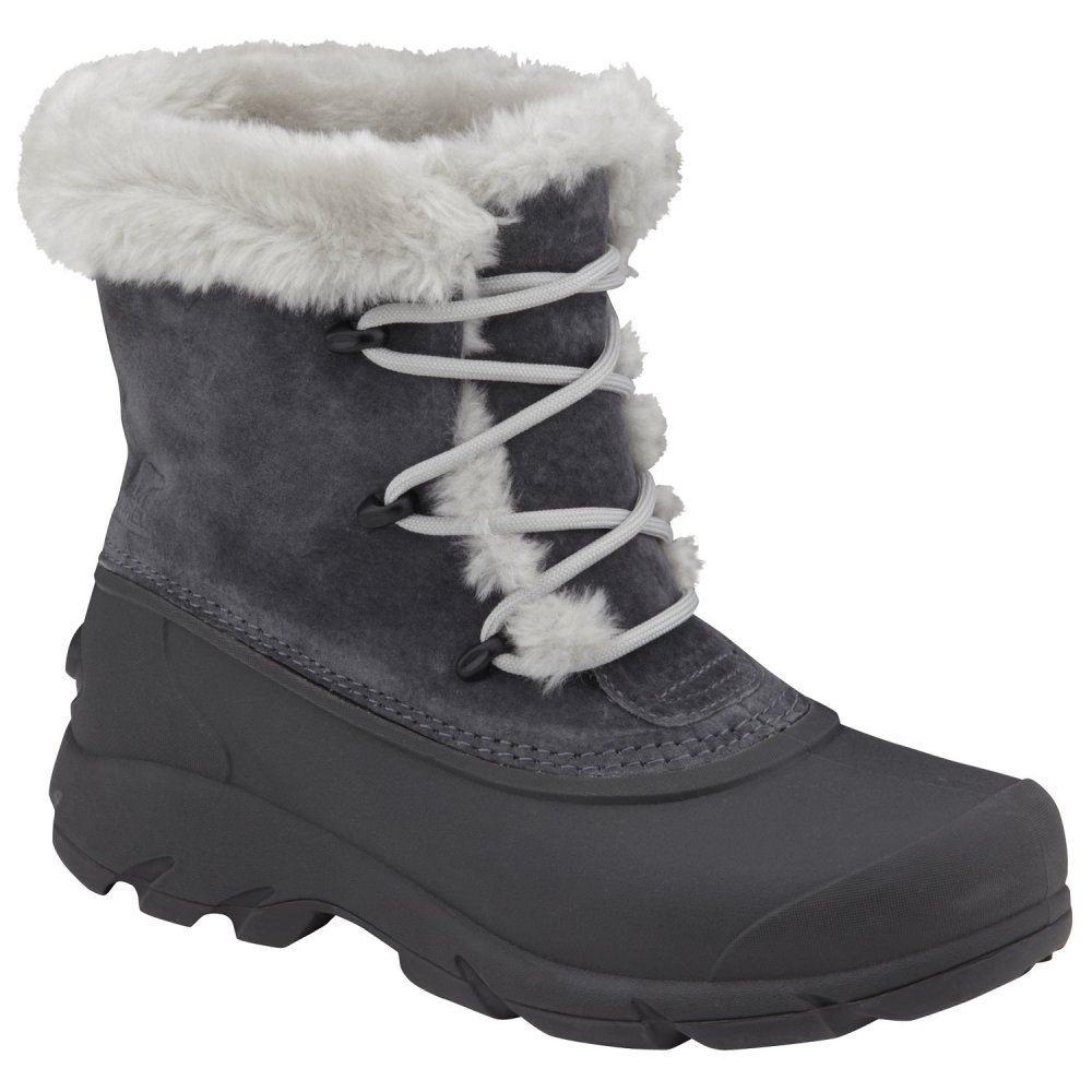 Shoes , Breathtaking Sorel Snow Boots For Women Image Gallery : Grey  Womens Snow Boots Photo Gallery