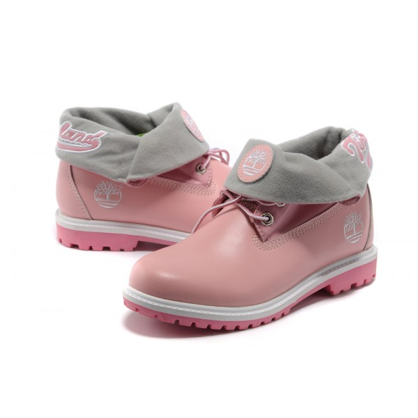 Shoes , Gorgeous Timberland Woman product Image : Pink  Timberlands Shoes
