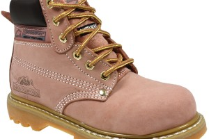 Shoes , 14  Stunning Womens Steel Toe BootsProduct Ideas : pink  womens steel toe boot product Image