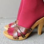 platform high heels Product Picture , Photo Gallery Of High Heel Mules Product Image In Shoes Category