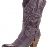 purple cowboy boots for women , Charming Boots For Womenproduct Image In Shoes Category