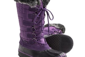 Shoes , Beautiful Snow Boots For Women  Product Image :  purple womens snow boots Product Picture