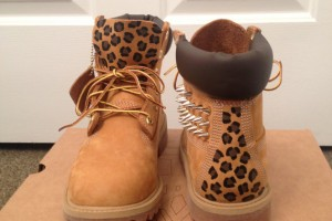 570x760px Beautiful  Timberlands With Spikes For Women Collection Picture in Shoes
