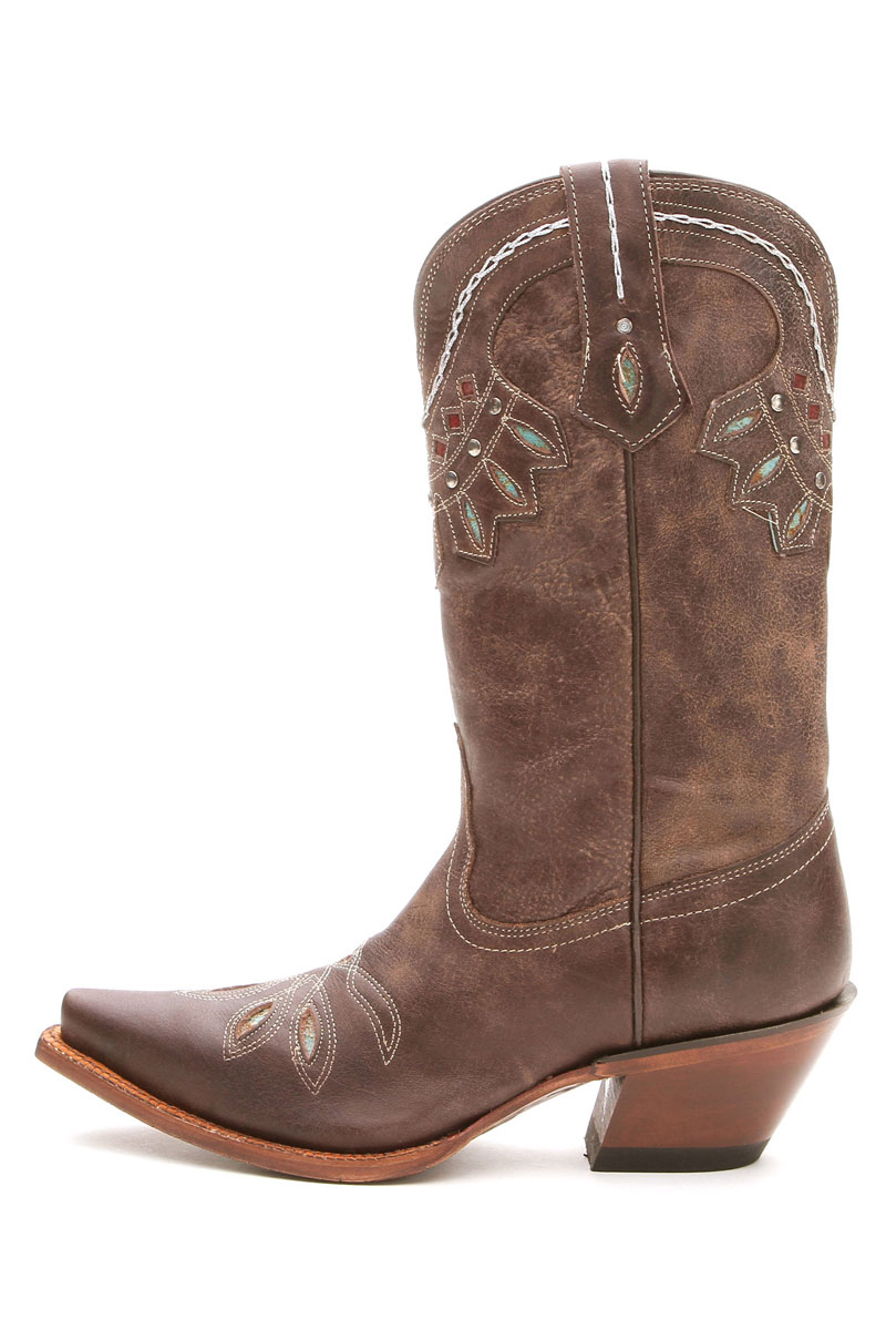 Shoes , Charming Wide Calf Cowboy Boots For Women Photo Gallery :  Western Boots For Women Photo Collection