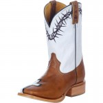 white brown  cheap western boots , Fabulous Tin Haul Boots product Image In Shoes Category