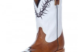Shoes , Fabulous Tin Haul Boots product Image : white brown  cheap western boots