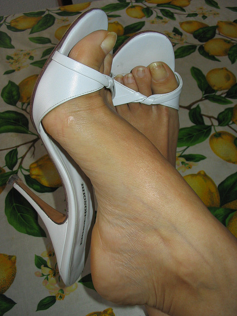 White Sexy High Heels Collection Woman Fashion