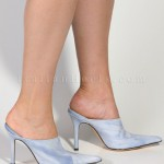 white  women high heels Product Lineup , Photo Gallery Of High Heel Mules Product Image In Shoes Category