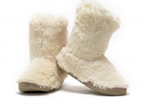 Shoes , Gorgeous Womens Slipper Boots Picture Gallery : white  womens house slippers Photo Collection