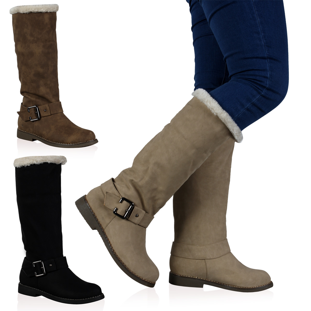 Womens Snow Boots Product Image : Charming Fur Lined Womens Boots ...