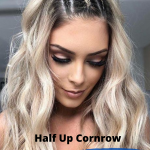 Going out hairstyle half up cornrow , 5 Perfect Going Out Hairstyle Ideas 2020 In Hair Style Category