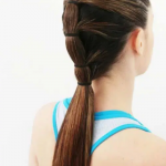 Gym Workout Hairstyle , Sporty Hairstyle For Workout Or Go To The Gym 2020 In Hair Style Category