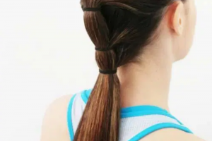 Hair Style , Sporty Hairstyle For Workout Or Go To The Gym 2020 : Gym Workout Hairstyle