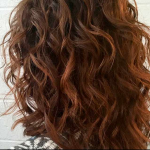 Medium Length Curly Hairstyle for Thick Hair , Superb Medium Length Hairstyles For An Amazing Look In Hair Style Category